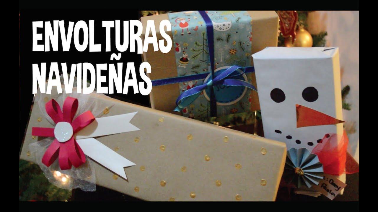 Envolturas de regalo navide as facil y original pp - Envoltorios originales para regalos ...