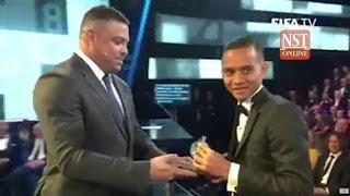 That's our boy! Faiz's miracle strike wins prestigious FIFA Puskas Award