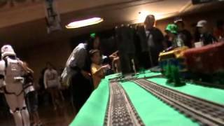 New Brickvention 2012 - Lego Convention In Melbourne (onboard Lego-train Camera) 2015