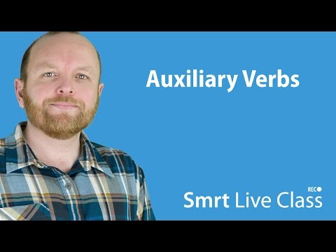 Auxiliary Verbs - Intermediate English with Mark #4