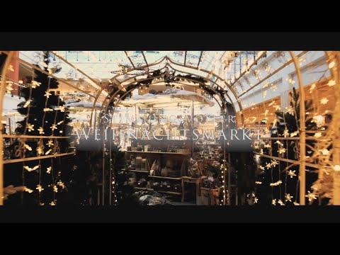 Stimmungsvoller Weihnachtsmarkt Möbelmarkt Dogern Youtube