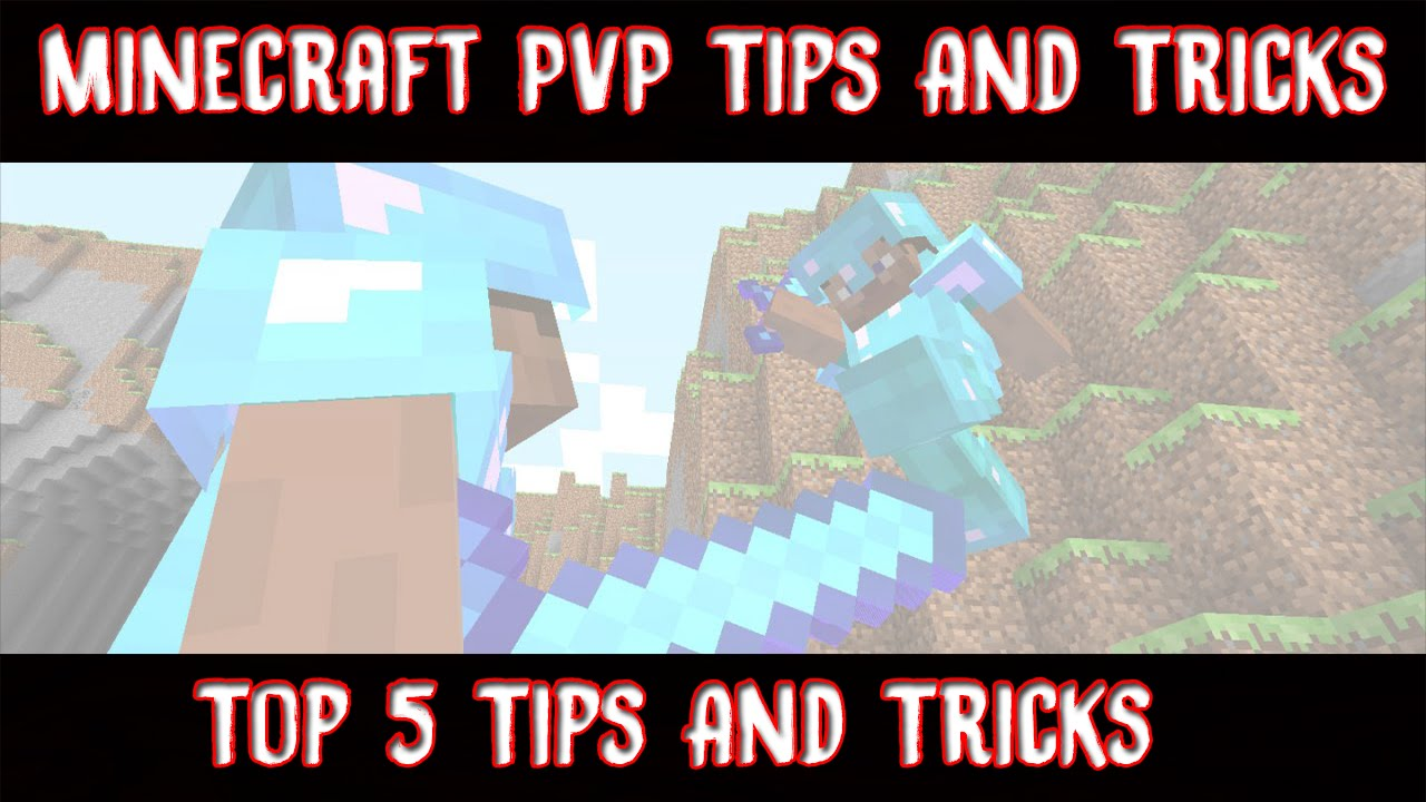 Minecraft Creative Tips Tricks: Best 5 Tips/Tricks For Great PVP Skills! (Minecraft PVP