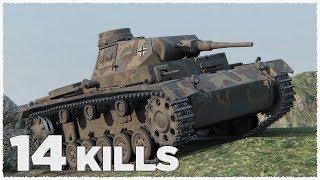Pz.Kpfw. III Ausf. E • 14  ФРАГОВ • Медаль героев Расейняя • WoT Gameplay