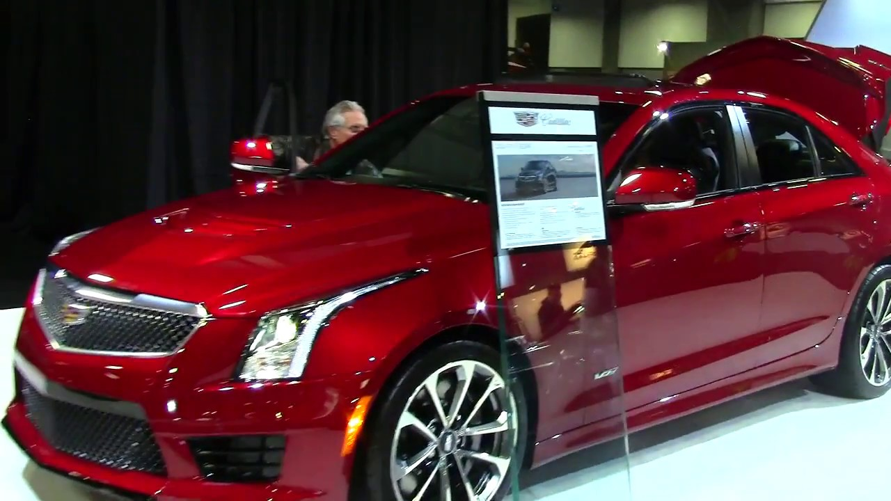 CADILLAC ATS-V SEDAN 2018 WASHINGTON DC 2017 - YouTube
