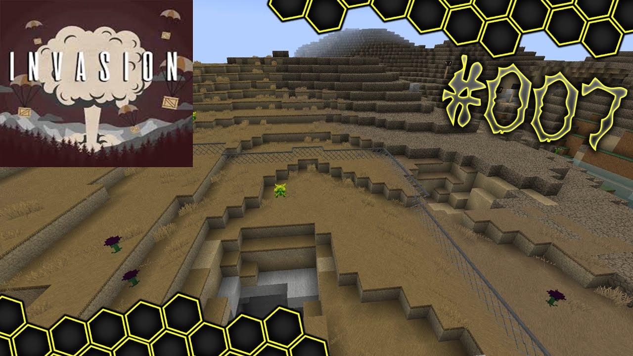 Wolfi Und Ein Zaun Minecraft Invasion 007 Let S Play