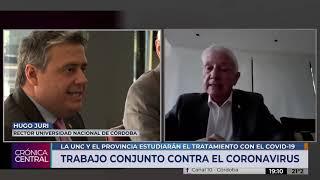 HUGO JURI SOBRE CONVENIO DE LA UNC CON LA PROVINCIA DE CÓRDOBA