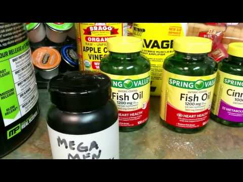 """My"" Daily Supplements - ""Spring Valley""  Fish Oil 🎣, Cinnamon, Multi-Vitamin, Preworkout 🏋"