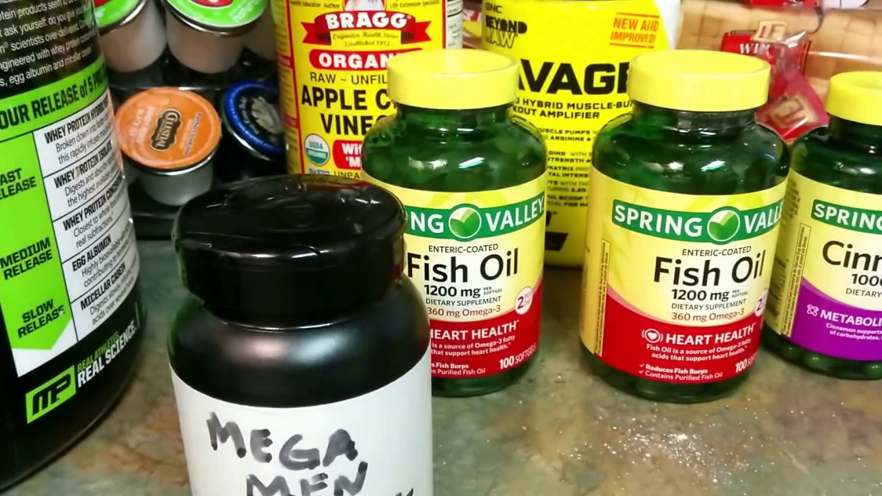 My daily supplements spring valley fish oil for Daily fish oil