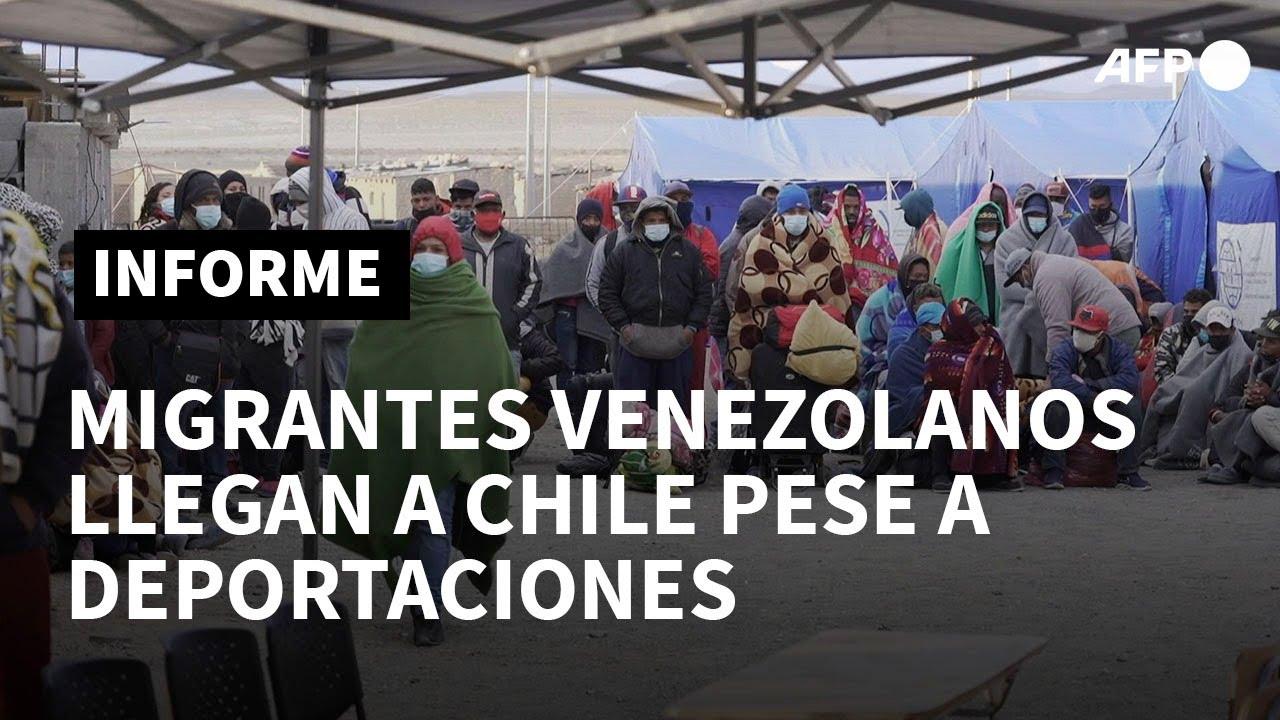 Download Centenares de venezolanos cruzan de Bolivia a Chile pese a amenazas de deportación | AFP