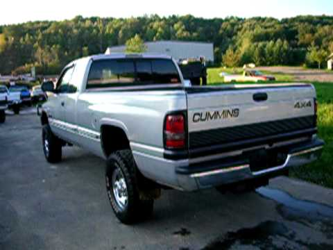 1998 dodge ram 2500 cummins 24v diesel 5 speed for sale usedcumminstrucks com youtube. Black Bedroom Furniture Sets. Home Design Ideas