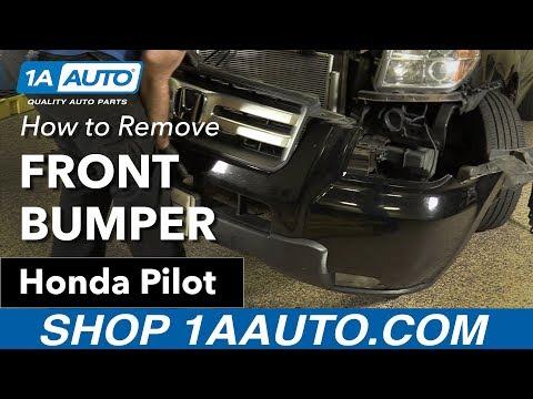 How to Remove Front Bumper 03-08 Honda Pilot