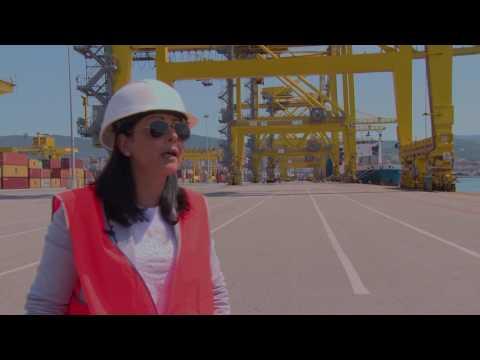 Molo VII, Trieste:  Floriana De Franchis, operation manager del terminal