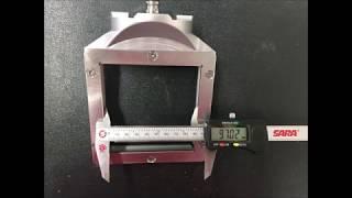 Abmessungen Halterungen XL / diemnsions holders XL