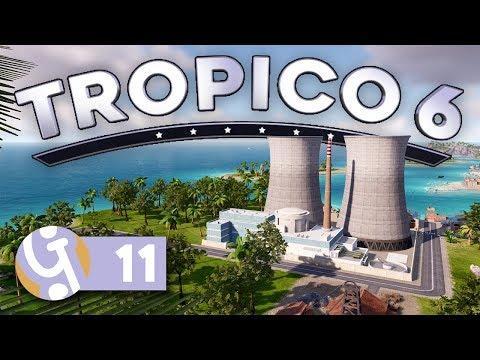 🌴 Going Nuclear! | Let's Play Tropico 6 Sandbox Ep. 11