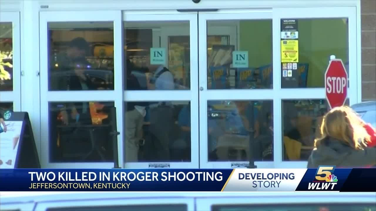 Two Melanated people killed in Kroger shooting identified by Gregory Bush