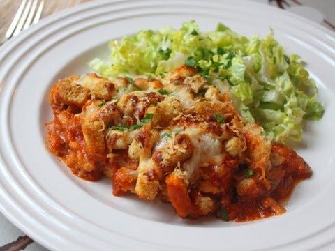 Chicken Parmesan Casserole 2012 - Easy Chicken Parm Bake