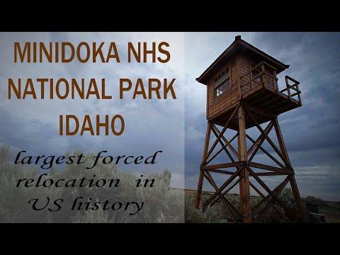 Minidoka National Park Historic Site   In violation of civil rights