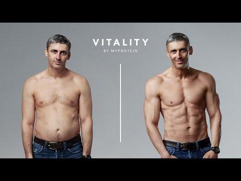 Transformación a los 45 años de edad | La Historia de Ben Jackson Vitality Myprotein |