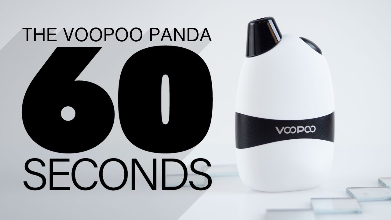 VooPoo Panda Review | Portable Pod System with Best Battery Backup