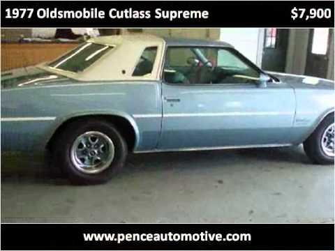 1977 Oldsmobile Cutlass Supreme Used Cars Danville IN  YouTube