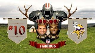 No. 10 Minnesota Vikings: 2015 Preseason RanKings