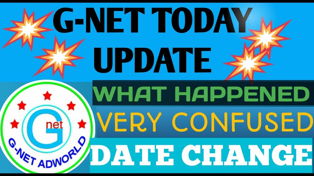 Gnet new confirm big update today by Samim Online