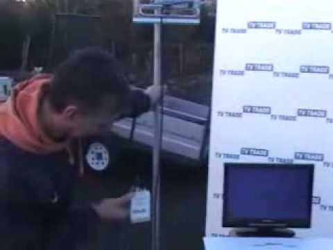 Fringe satellite & UFH signal meter / finder