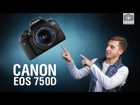 Canon EOS 750D - Весомое обновление зеркалки для начинающих
