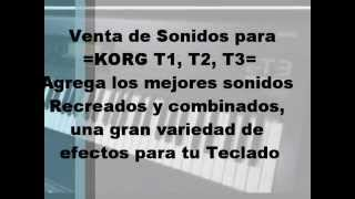 Korg N364 Sonidos