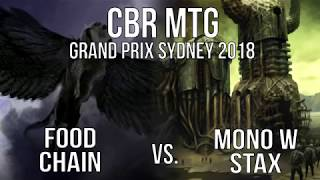 CBR MTG GP SYDNEY 18 LEGACY - Food Chain vs Mono W Stax