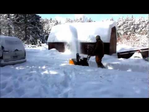 Профессиональный снегоуборщик Cub Cadet PRO 530 HD SWE