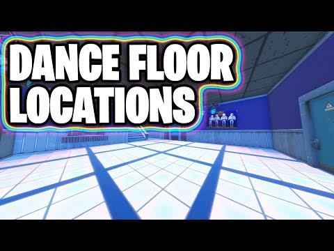 All Dance Floor Locations | Fortnite Week 8 Challenge -