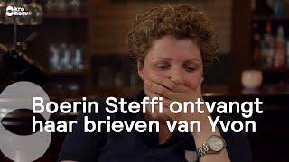 Boerin Steffi ontvangt haar brieven van Yvon | Boer zoekt Vrouw