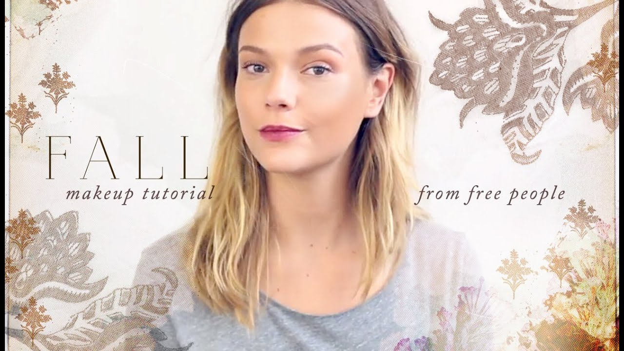 Fall makeup tutorial free people youtube baditri Image collections