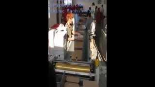 Gluing Machine And Two Edge Folding Machine For Box/bookcase File Folders-jingang Machinery