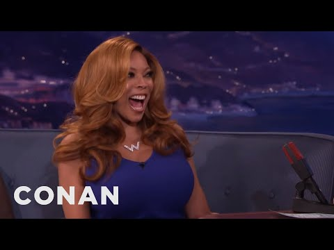 Wendy Williams' Son Walked In On Wendy & Her Husband  - CONAN on TBS