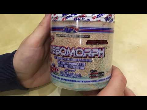 "MESOMORPH ""Rocket Pop"" APS NUTRITION"