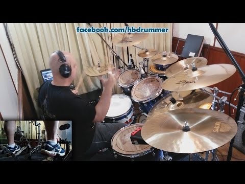 Iron Maiden - Speed Of Light - Drum Cover (FULL SONG with Lyrics)