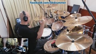 Iron Maiden - Speed Of Light - Drum Cover (FULL SONG with Lyrics) Mp3
