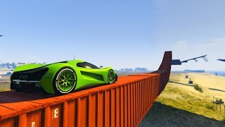 GTA 5 Online Parkour - CAR PARKOUR IMPOSSIBLE