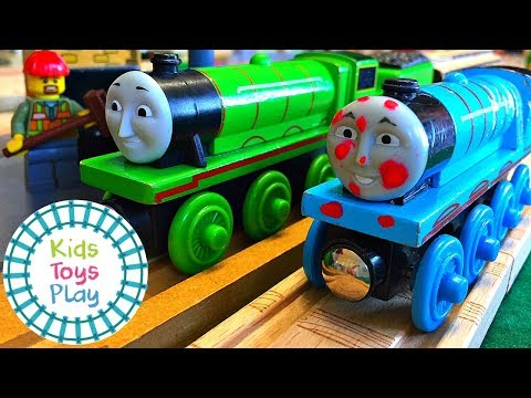 Thomas the Train Henry Spots Trouble | Thomas and Friends Full Episodes Parodies Season 19