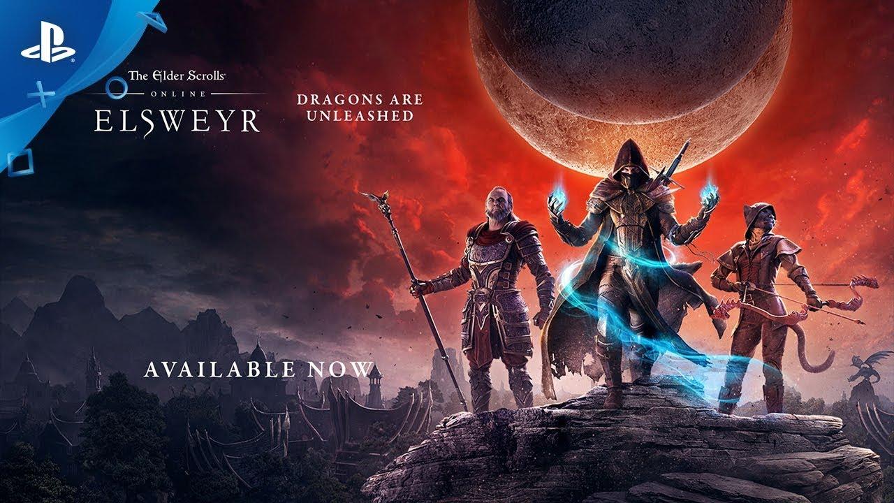 The Elder Scrolls Online: Elsweyr | Official Gameplay Launch Trailer | PS4