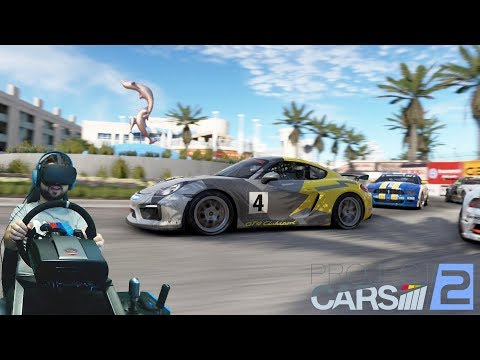 Возвращение Project CARS 2 и ботов-слоупоков Fanatec ClubSport + VR Oculus Rift