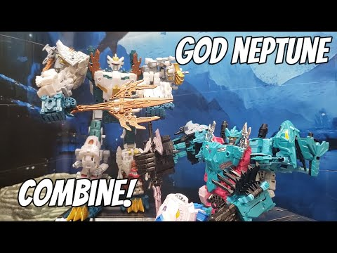 Transformers Generations Selects God Neptune Review by The Mr Stan Show