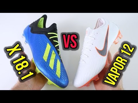 new style b5615 c35a0 NIKE MERCURIAL VAPOR 12 ELITE vs ADIDAS X 18.1 - WHICH ONE IS THE ULTIMATE  SPEED BOOT