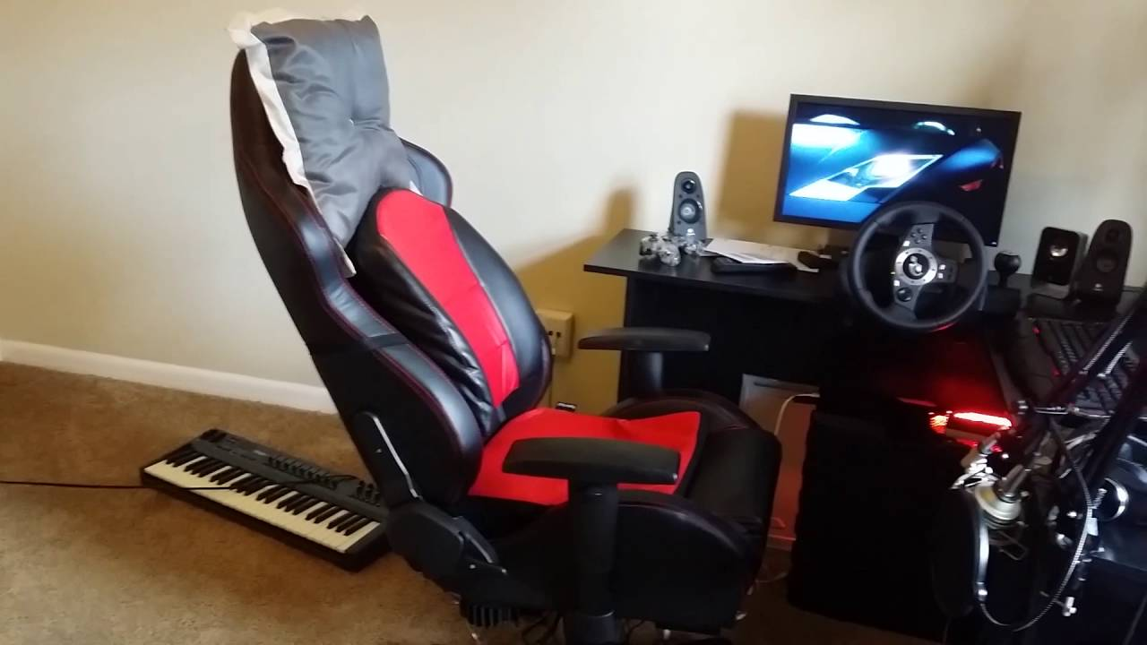 Diy Ffb Gaming Chair Build And Review Youtube