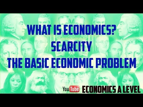 the basic economic problem Basic economic problem - basic economic problem basic economic problem at the end of the lecture you should be able to: - to identify the factors of production.