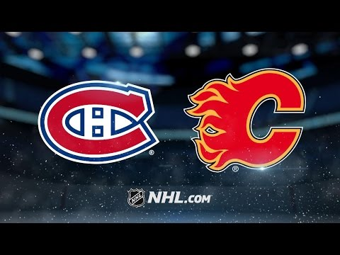 Flames blank Habs, 5-0, for eighth straight win