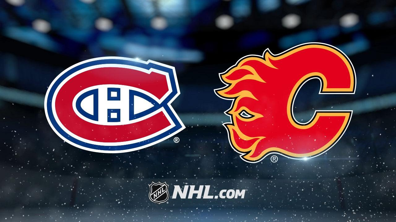 Flames Blank Habs 5 0 For Eighth Straight Win Youtube
