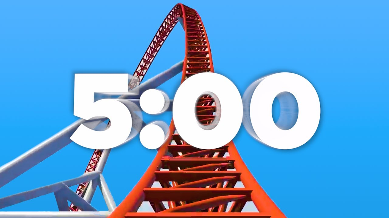 Download 5 Min Countdown Timer (Roller Coaster) 🎢